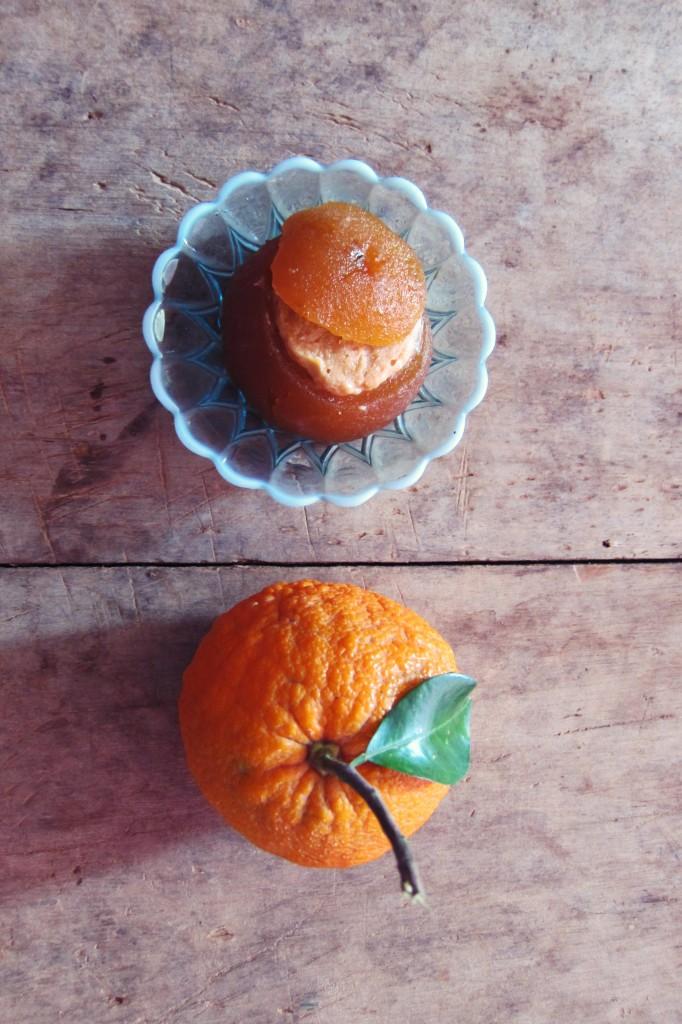 naranjas agrias rellenas
