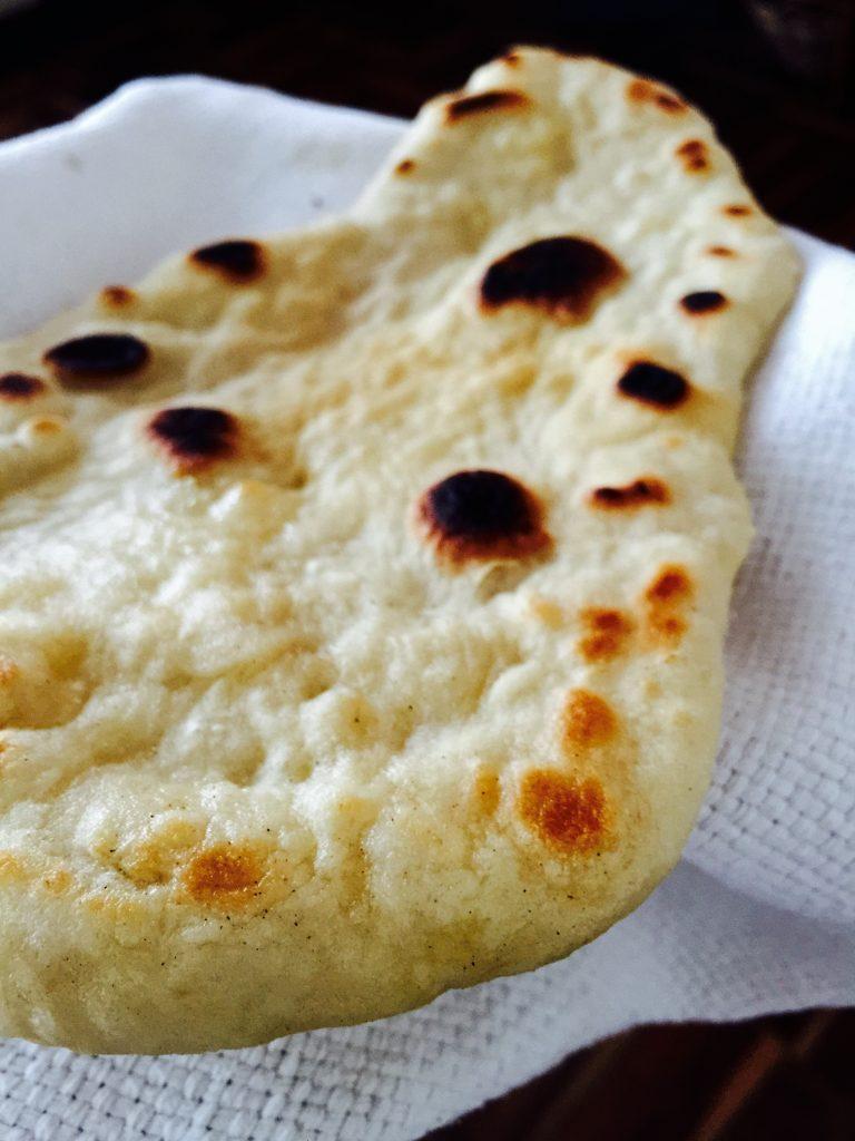 Naan, un pan facilito